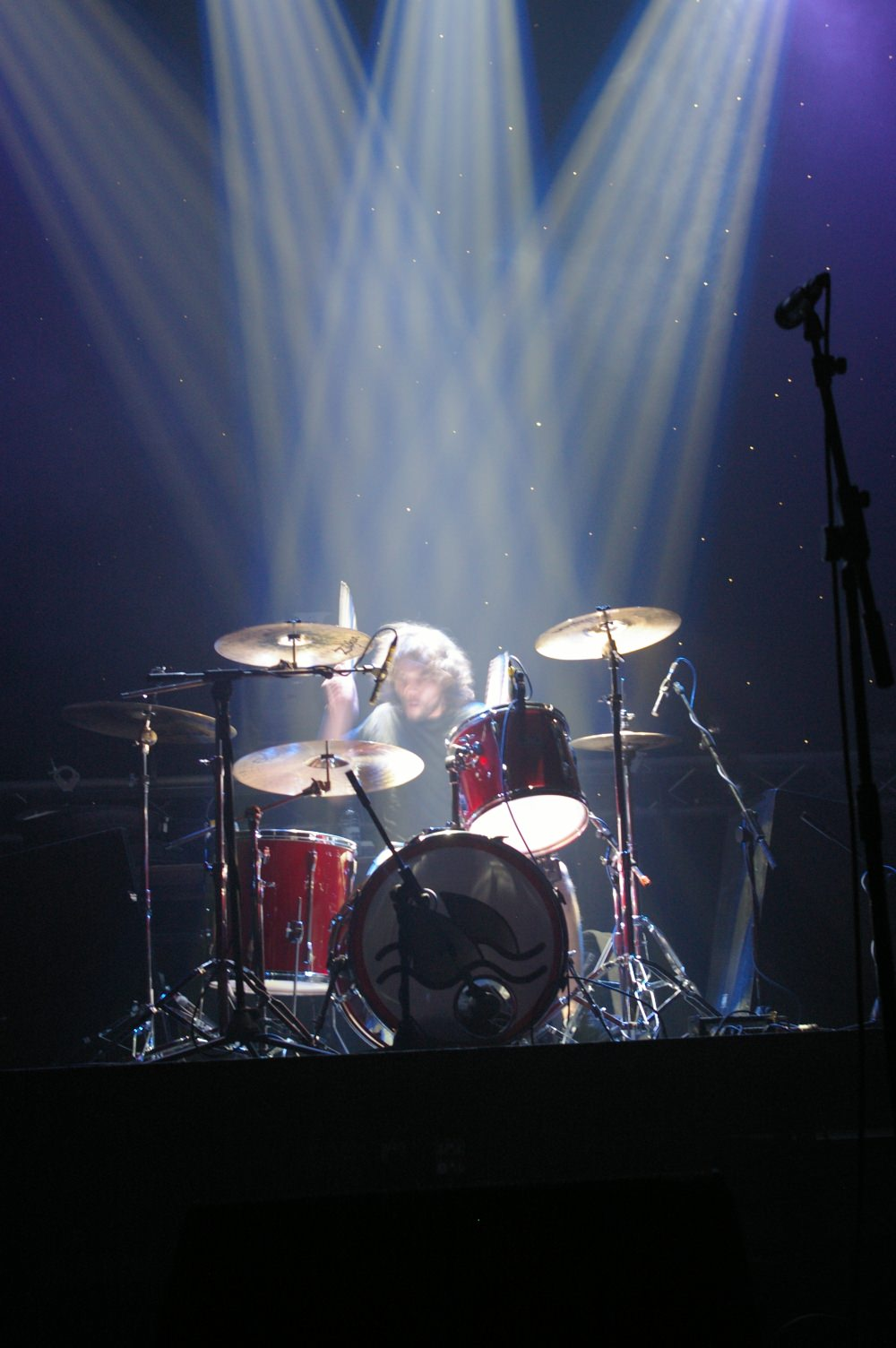 Lawrence under lights